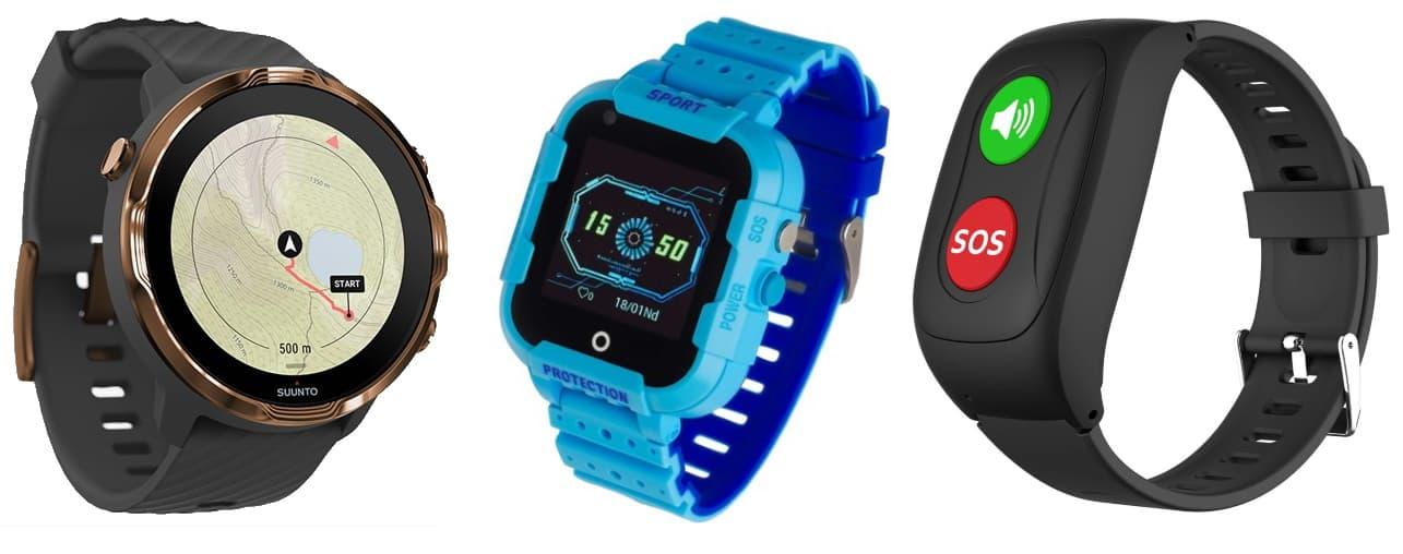 Zegarek z GPS