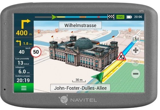 Navitel e200 (mapy 15 krajów) - 4 zdjęcie